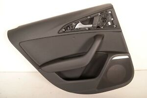 AUDI-A6-C7-2-0-TDI-2013-RHD-REAR-LEFT-SIDE-DOOR-CARD-TRIM-COVER-PANEL-4G0867221A