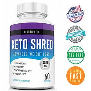 Details about Keto Slim Ultra Shred Diet Pills from Shark Tank Advanced  Weight Loss Fat Burner