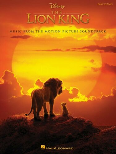 The Lion King Sheet Music from the Disney Movie Soundtrack Easy Piano 000303491
