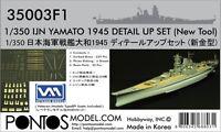Pontos Model 1/350 Ijn Yamato 1945 Detail Set For Tam Pon350031