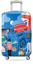 LOQI Urban LONDON Kofferbezug - LOQI Urban Luggage Cover LONDON