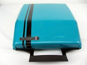 Smith Corona manual Super G Aqua Blue turquoise Portable Typewriter  by Ghia