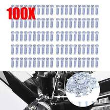 100pcs Alloy Bicycle Bike Inner Wire Gear Brake Cable End Caps Crimp Ferrule New