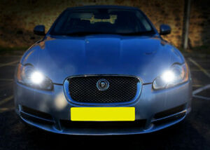 Fits Jaguar XF 3.0 D White 12-SMD LED COB 12v Number Plate Light Bulbs
