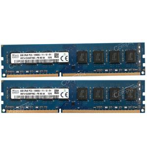 For-Hynix-16GB-2x8GB-PC3-12800-DDR3-1600-240p-Intel-Low-Density-Desktop-Memory