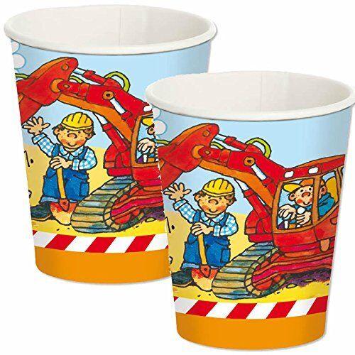 Vasos de fiesta obra con baggerführer sven cumpleaños de niños jóvenes mesa Decoración