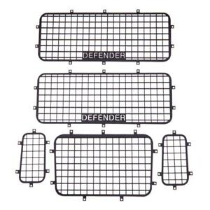 5pcs-Metal-Window-Mesh-Protective-Net-for-1-10-RC-Crawler-Car-Traxxas-TRX-4-Part