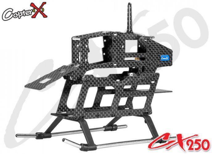 CopterX CX250-03-00 Carbon Fiber Main Frame SetAlign T-rex Trex 250 PRO