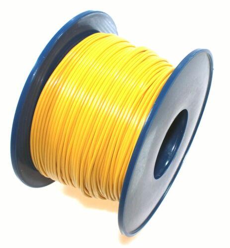 Voiture Câble direction toron FLRY 1,0mm² 100m jaune véhicule voiture camion câble d/'alimentation Fly