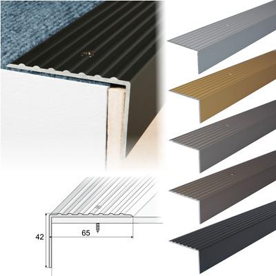 Etonnant Aluminium Stair Nosing Edge Trim Step Nose Edging Nosings For  Carpet,Wood... A32 | EBay