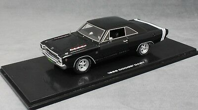 Dodge Dart GTS 1968 Charger Red 1:43 Model 43001 HIGHWAY 61