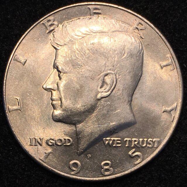 1985 D Kennedy Half Dollar in BU condition