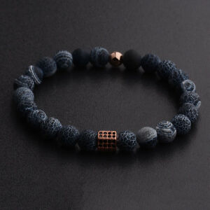 Luxury-Cubic-zirconia-Hexagon-Head-Natural-Stone-Charm-Men-Women-Bracelets-Gift