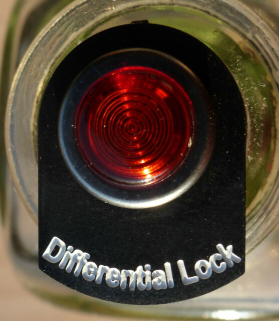 Land Rover Series 2 2a 3 LED Illuminated Differential Lock Warning Tag Light