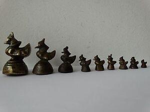 Antiquitäten & Kunst Antike Opium Gewichte Aus Burma In Bronze Bronze