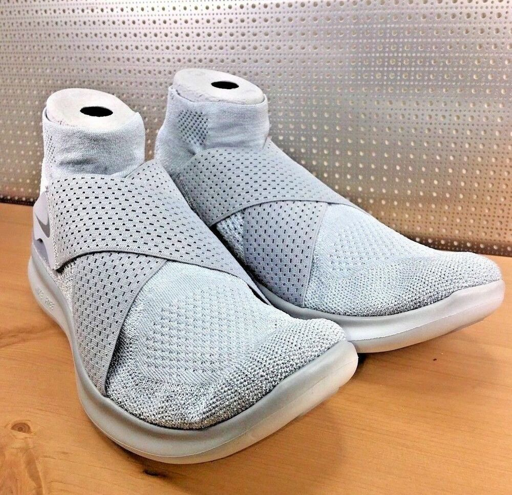 NIKE FREE RN MOTION 880845 005 homme Wolf Gris Gris Taille 9.5 New In Box