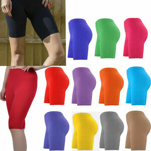 Latest Collection Of Ladies Cycling Cotton Stretchy Lycra Short Active Casual Sports Women's Leggings Up-To-Date Styling Clothing, Shoes & Accessories Shorts