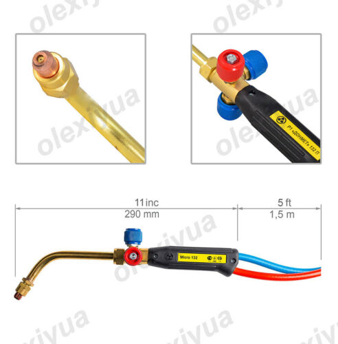 2 in1 GAS Cutting Torch /& Soldering Brazing Torch Micro Series Propane Gas Torch