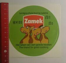 Aufkleber/Sticker: Zamek het teken van een goede keuken (160916108)