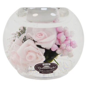Dreamlight-Traumlicht-Teelichthalter-Mercur-034-Little-Rose-034-Hoehe-ca-7-5-cm