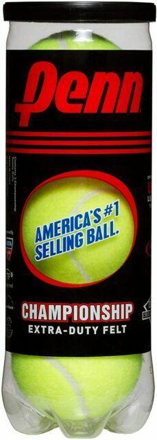 Free ship 12 Can Pack Penn Championship Extra Duty Tennis Balls