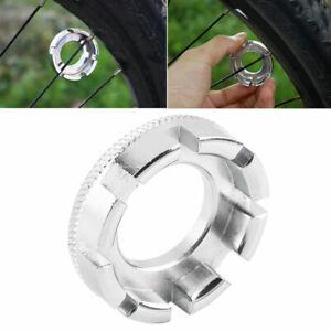 Bicycle Bike 8 Way Spoke Nipple Key Wheel Rim Wrench New Repair Tool Portable