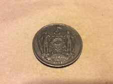 1887 BRITISH NORTH BORNEO CO. ONE CENT COIN