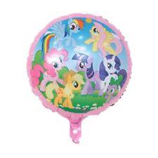 "Unicorn18/"" FOIL BALLOON BIRTHDAY PARTY RAINBOW MY LITTLE PONY AIR FILL or HELIUM"