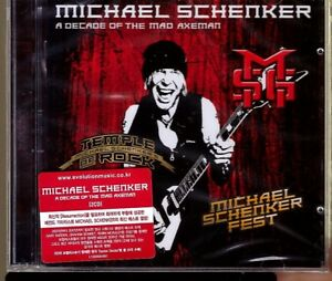 Michael-Schenker-A-Decade-Of-The-Mad-Axeman-2CD-Korea-Import-Sealed