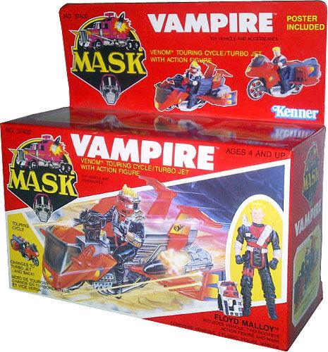 M. A. S. K. Mask Kenner - Vampire Vintage 1986 - de Collection Misb Nouveau Afa