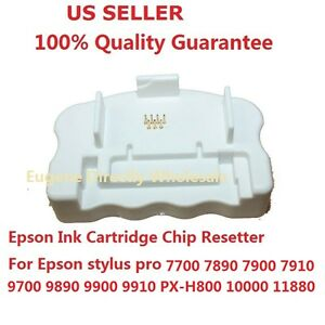 Details about Epson Ink Cartridge Chip Resetter 7890 9890 7900 7910 9900  9910 7700 9700 10000