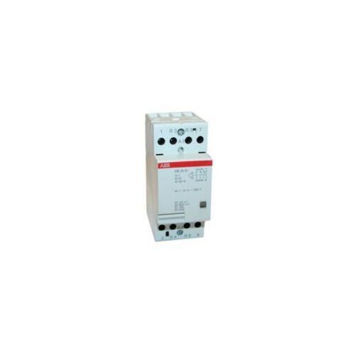 ABB installationsschütz ESB 24-22 24VAC//DC IP20 DIN Rail Mounted GHE3291302R0001