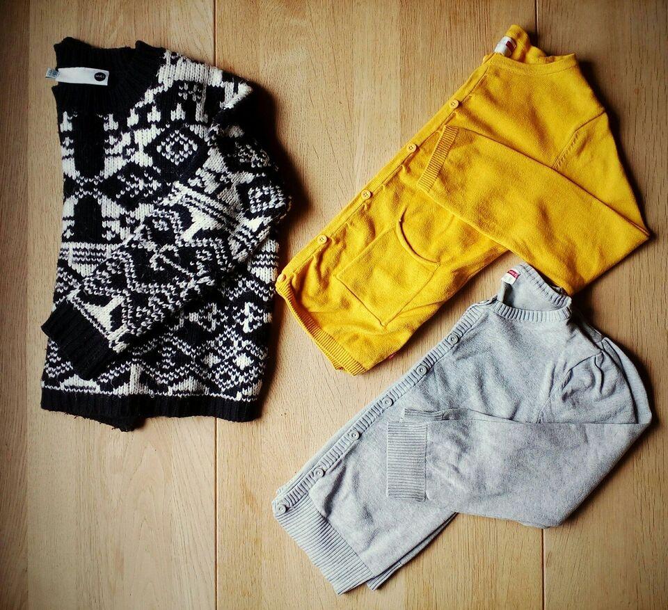 Blandet tøj, Fleece, strik