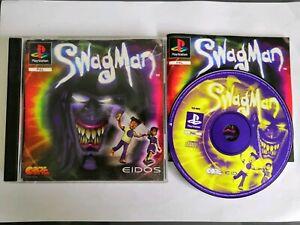 Swagman-Jeu-Sony-PlayStation-one-1-Ps1-avec-Boite-Et-Notice-Pal-Multilangue