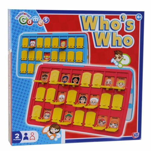 Who/'s Who Game