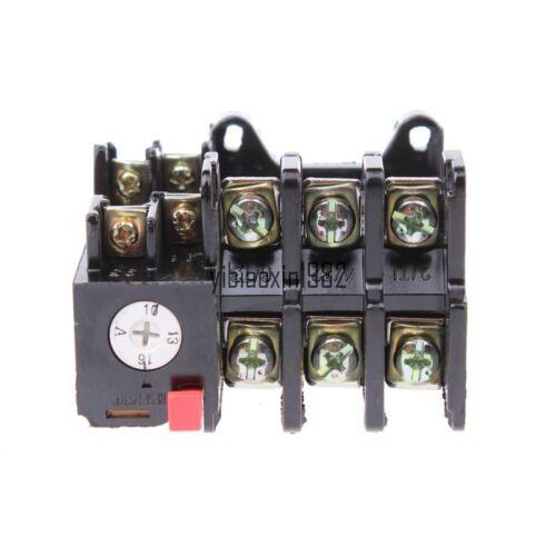 JR36-20 10-16A  3-Pole 1NO 1NC Adjustable Thermal Overload Relay 690V