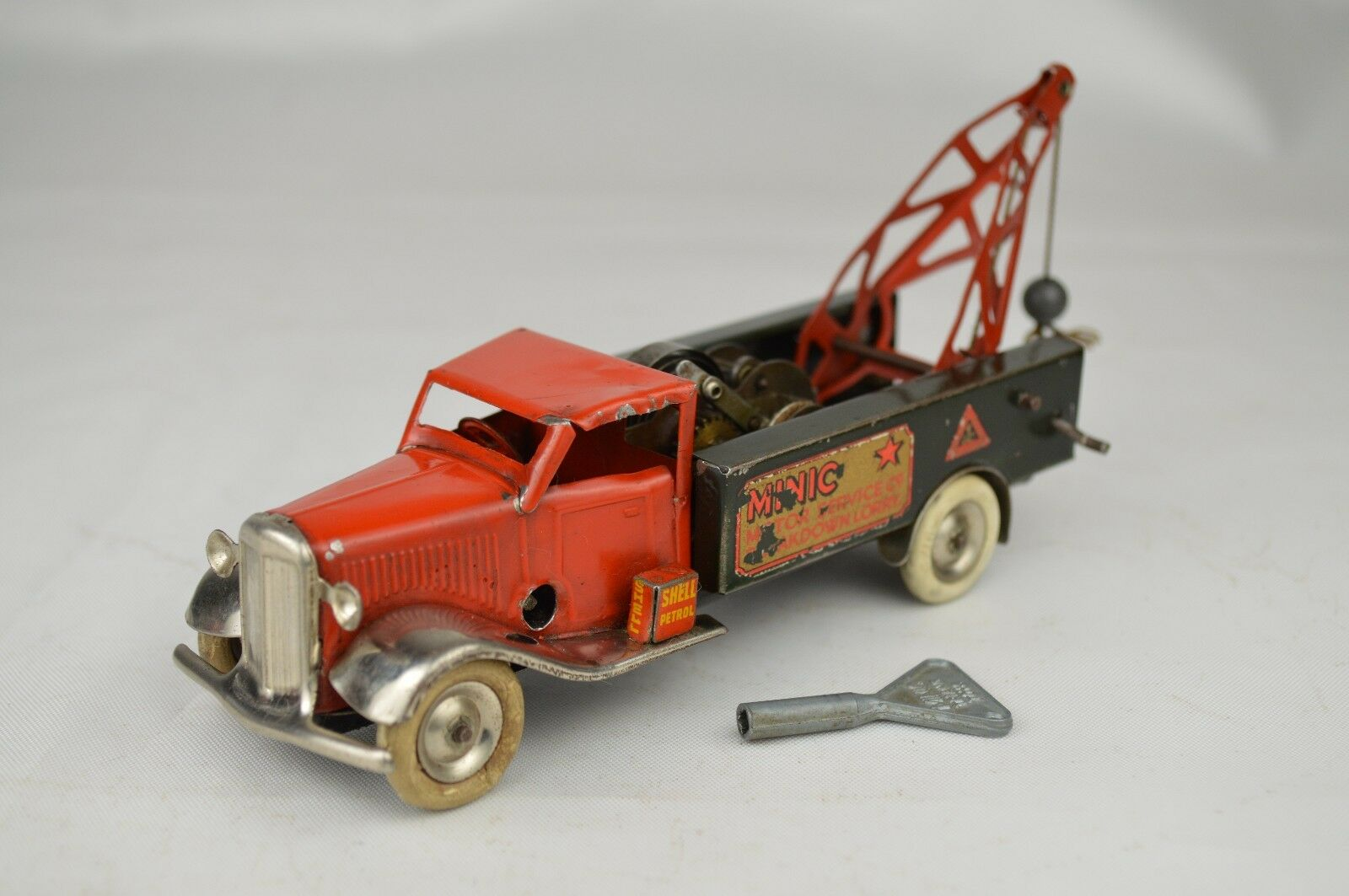 protección post-venta Pre guerra Tri-ang Minic    48M ruptura Camión Remolque Camión 5 3 8  Largo Muy Buena  servicio honesto