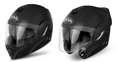 Haben Sie Einen Fragenden Verstand Helmet Flip Up Motorrad Airoh Rev Black Matt Size L Casque Modulare Helm Helme