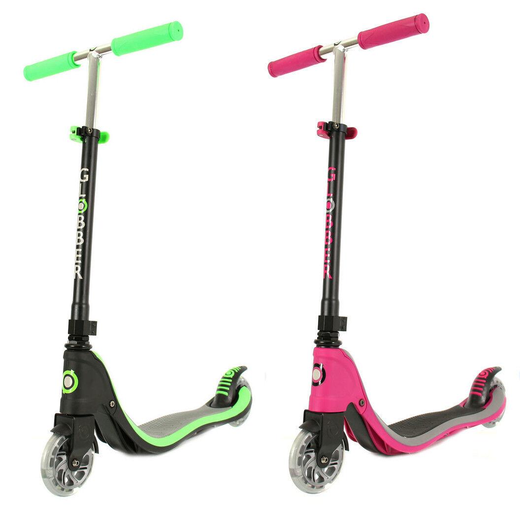 Globber Flow Wheels 125 Light Up Wheels Flow Scooter 2017 46c5b1