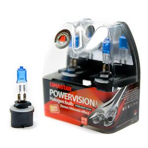 2 x 890 Poires PG13 Lampe Halogène 6000K 27 Watt Xenon Ampoules 12V