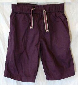 Boys-Next-Dark-Purple-Elasticated-Waist-Long-Cargo-Board-Shorts-Age-6-Years
