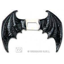 BAT WINGS BLACK MAXI Accessory for Vampire Dracula Fancy Dress