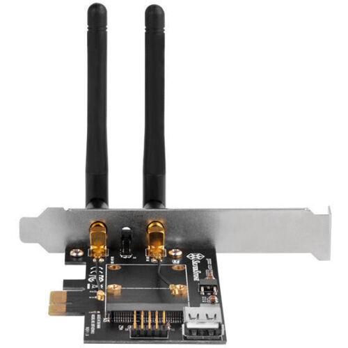 Silverstone ECWA2-LITE Mini PCI-E to Standard PCI-E x1 Wireless Network Card