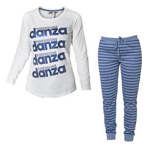 Pigiama-Homewear-Donna-DIMENSIONE-DANZA-Cotone-Jersey-Art-20032