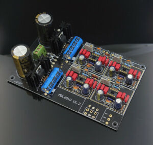 Details about High-end MBL6010D HIFI preamplifier DIY kit Stereo Adopt  JRC5534 Customized