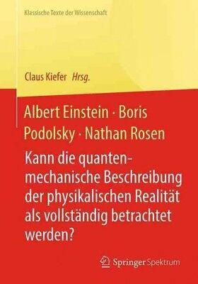 Einstein Rosen Podolsky Paradoxon