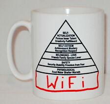 Modern Maslow Tiers Of Human Needs Mug Can Personalise Psychology Internet Wifi