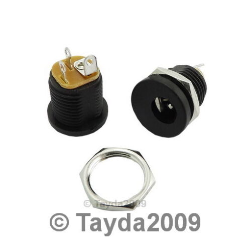 3 x DC Power Jack 2.1mm Enclosed Frame With Switch