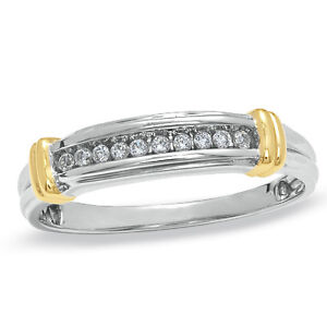 jem: DIAMOND WEDDING RING in FINE SILVER - DESIGN NO. 2