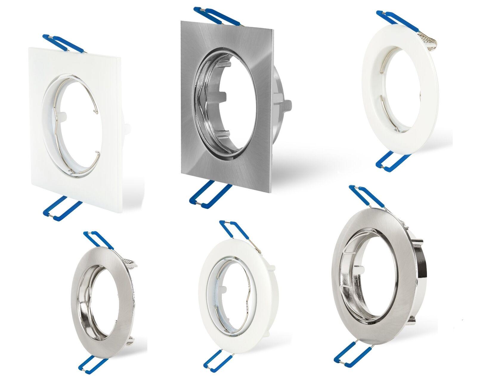 LED Spot encastré cadre forme forme forme carrée, ronde pivotant Cadre d'encastreHommes t GU10 6880b5